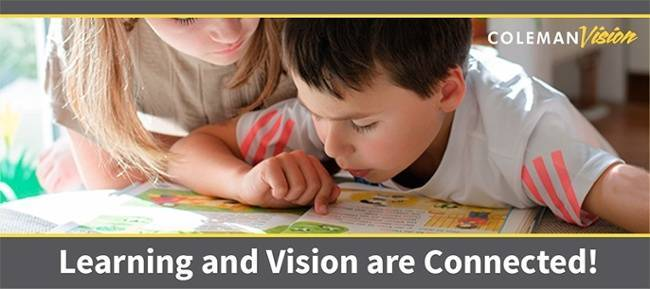 pediatric eye care is important for learning